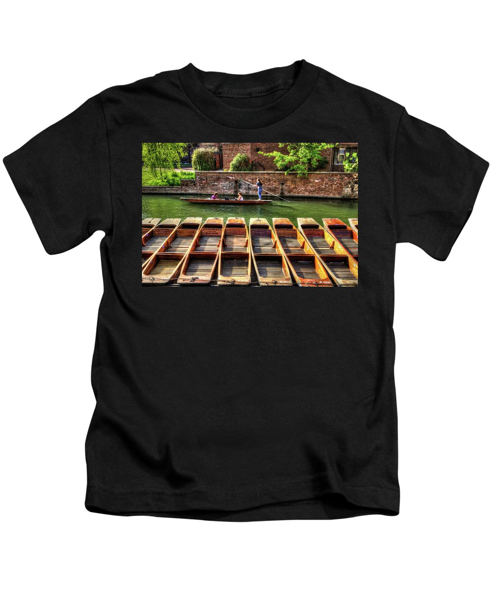Panting Kids T-Shirt featuring the photograph Panting In Cambridge by KonTrasts