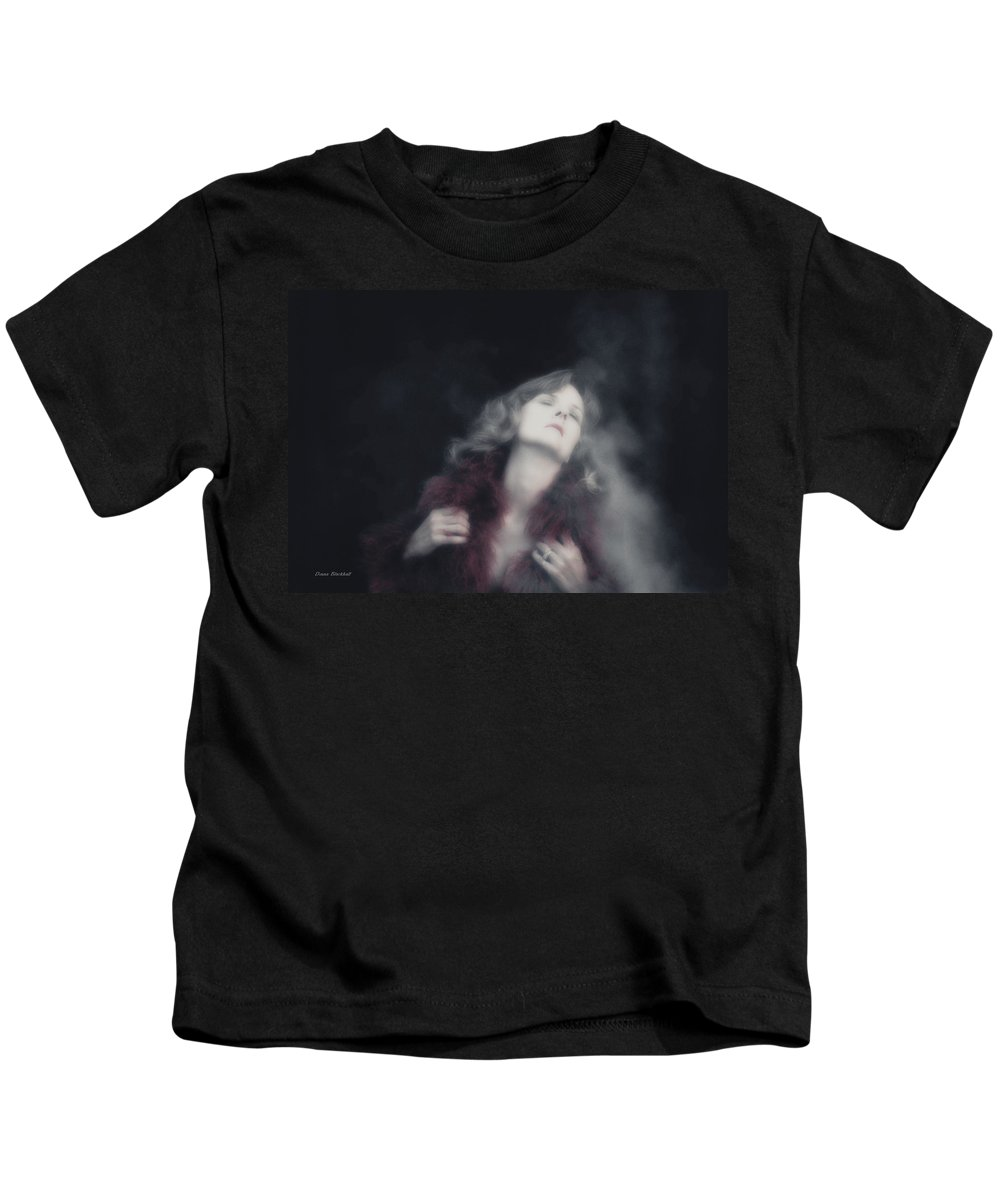 Woman Kids T-Shirt featuring the photograph Passion Awakes by Donna Blackhall