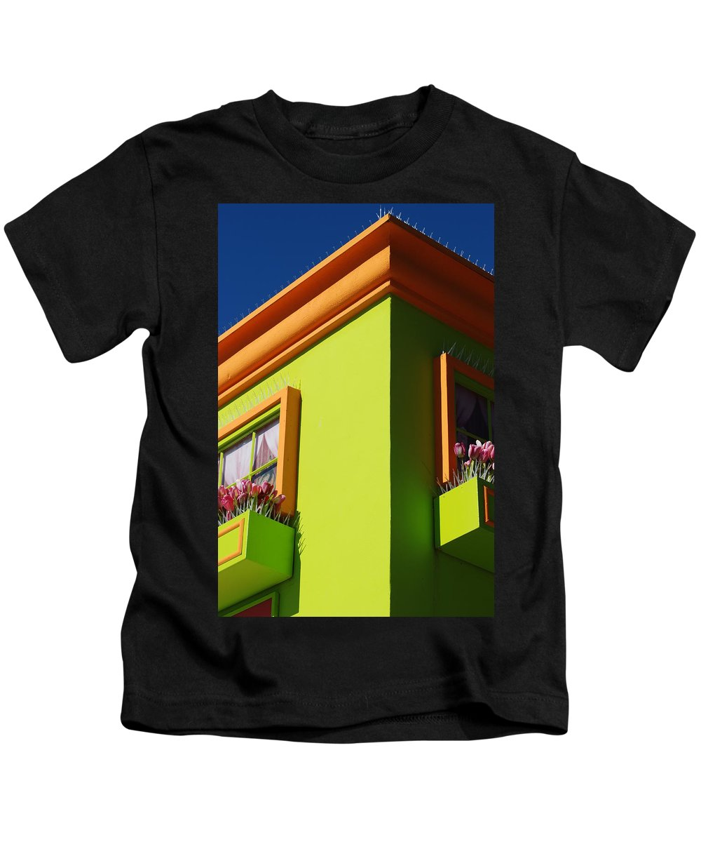 Sky Kids T-Shirt featuring the photograph Pastle Corners by Rob Hans