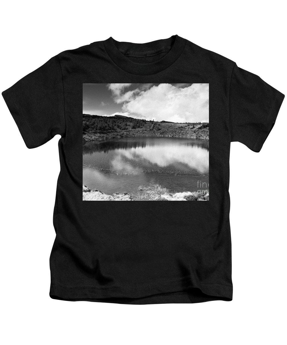 Lake Kids T-Shirt featuring the photograph Pau-pique Lake by Gaspar Avila
