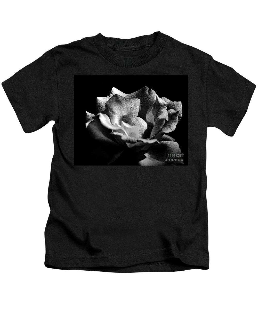 Clay Kids T-Shirt featuring the photograph Penetrating The Rose by Clayton Bruster