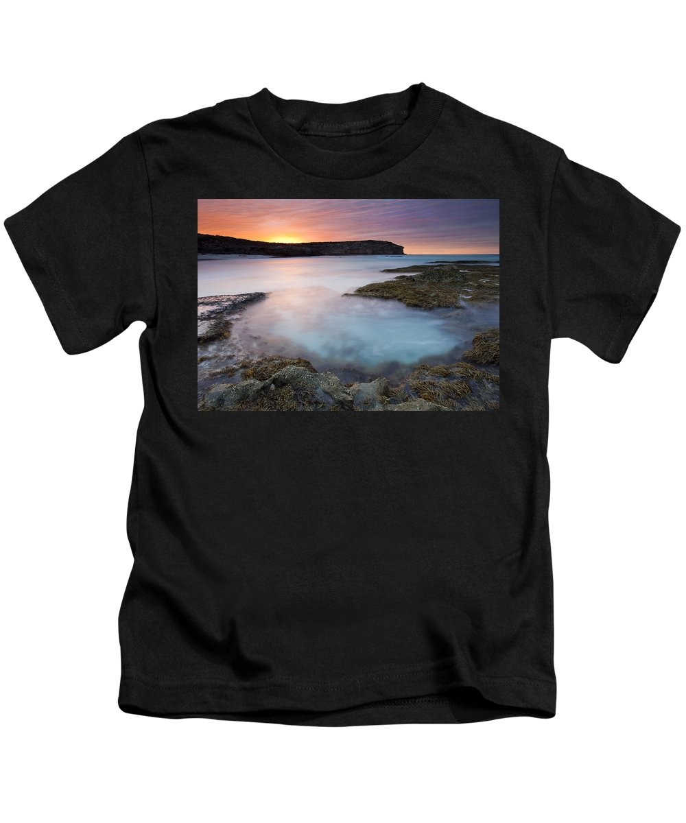 Dawn Kids T-Shirt featuring the photograph Pennington Dawn by Mike Dawson