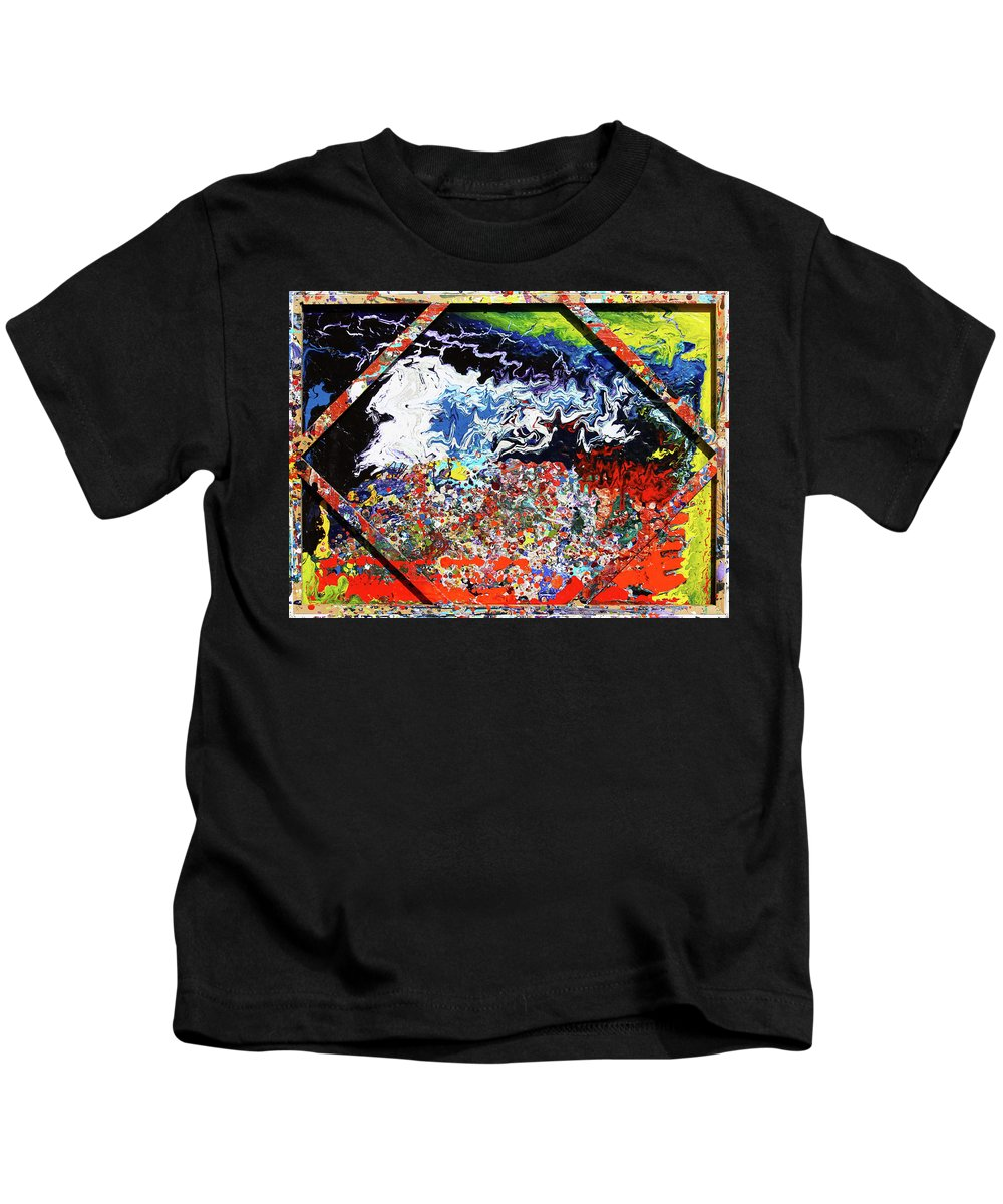 Fusionart Kids T-Shirt featuring the painting Perspective by Ralph White