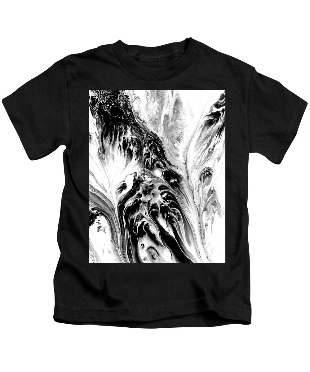 Kids T-Shirt featuring the painting Phantoms by Destiny Womack