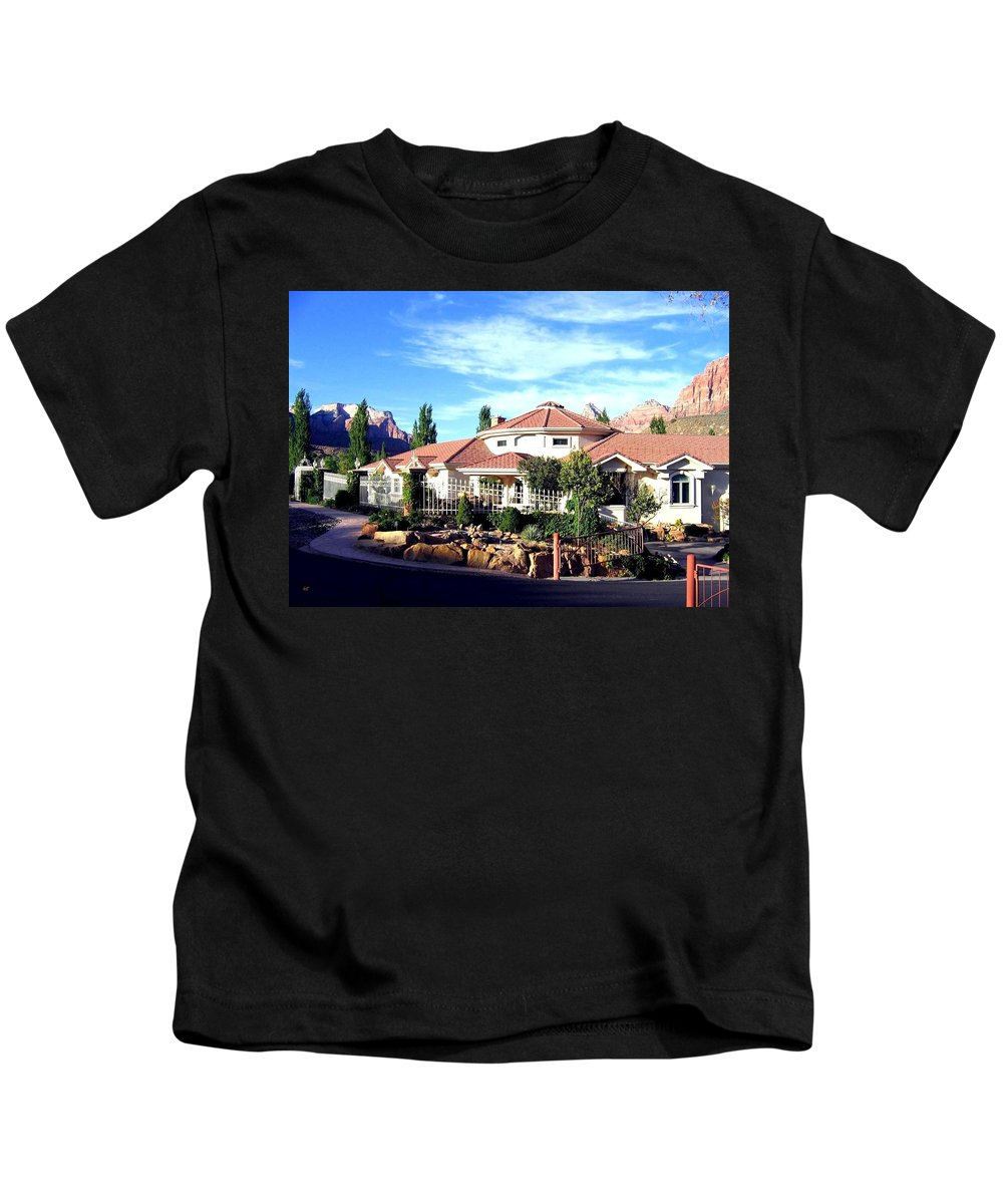 Utah Kids T-Shirt featuring the photograph Picturesque Utah by Will Borden