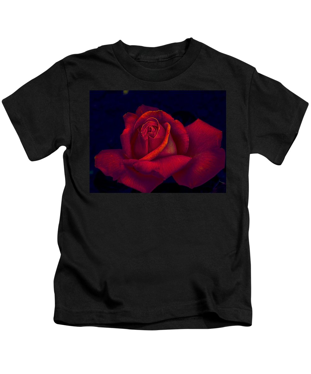 Rose Kids T-Shirt featuring the photograph Pink Delight by Charleen Treasures