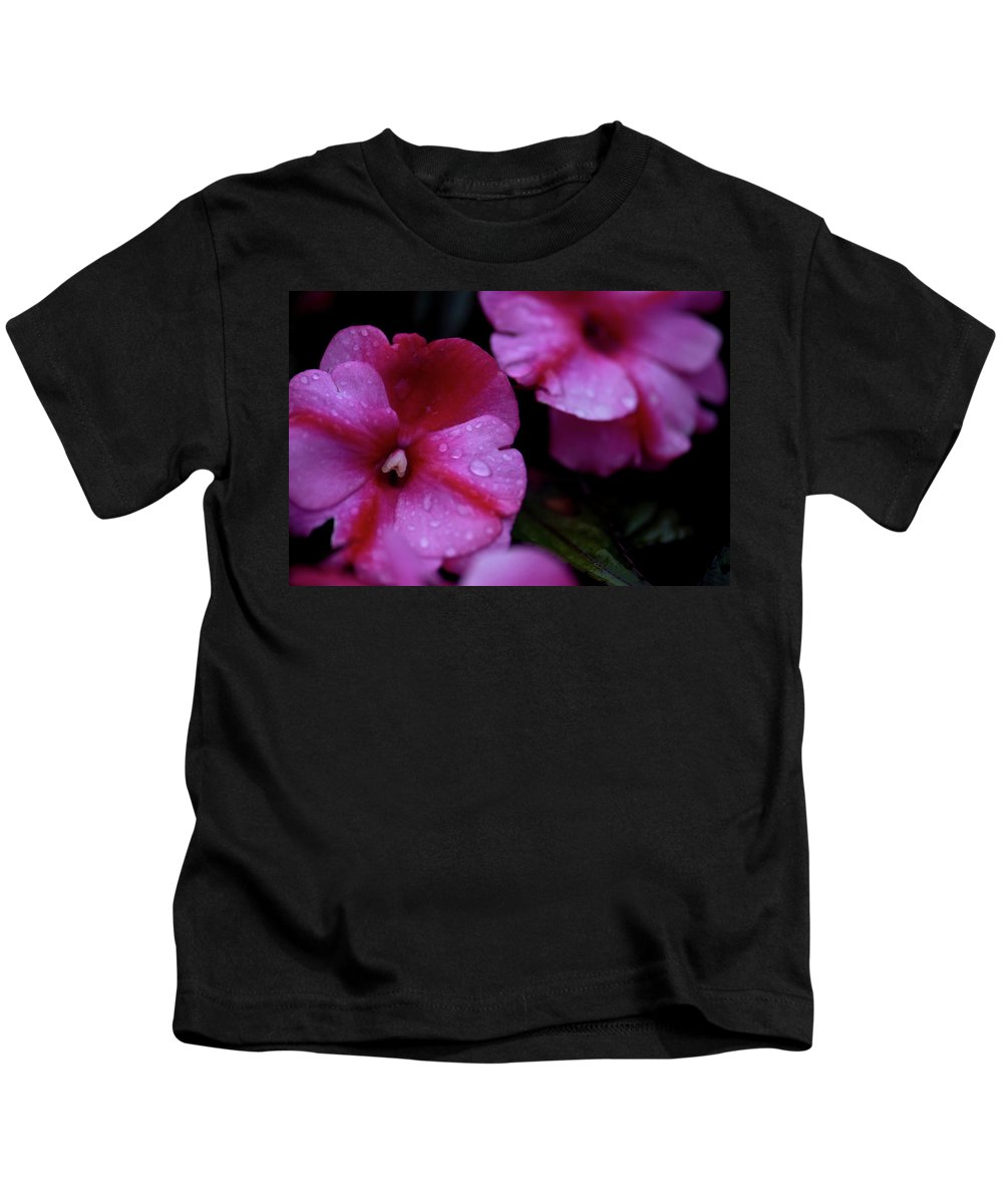 Flowers Kids T-Shirt featuring the photograph Pink Wonders by Paul Mangold