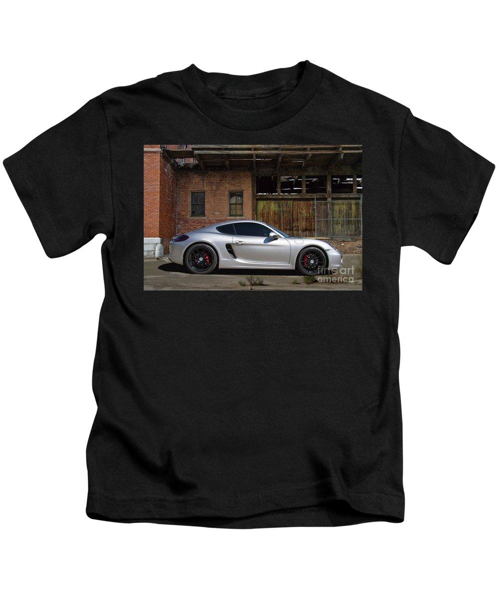 Porsche Kids T-Shirt featuring the photograph Porsche Need For Speed by Nick Gray