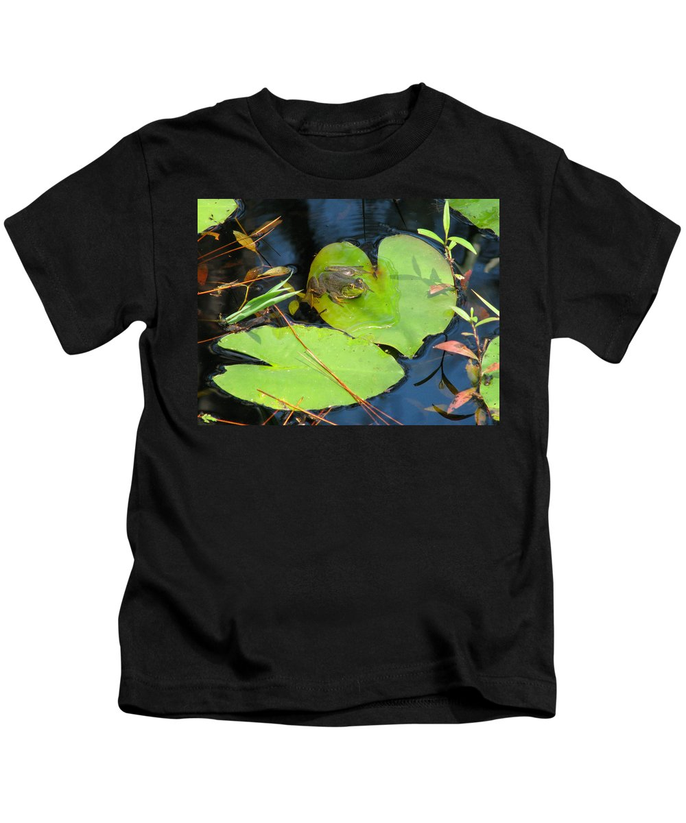 Nature Kids T-Shirt featuring the photograph Prince Charming by Peg Urban