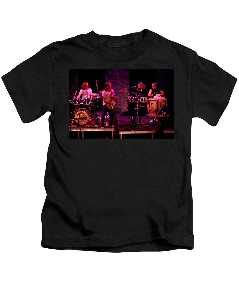 Lukas Nelson Kids T-Shirt featuring the photograph Promise Of The Real Rock by Ben Upham