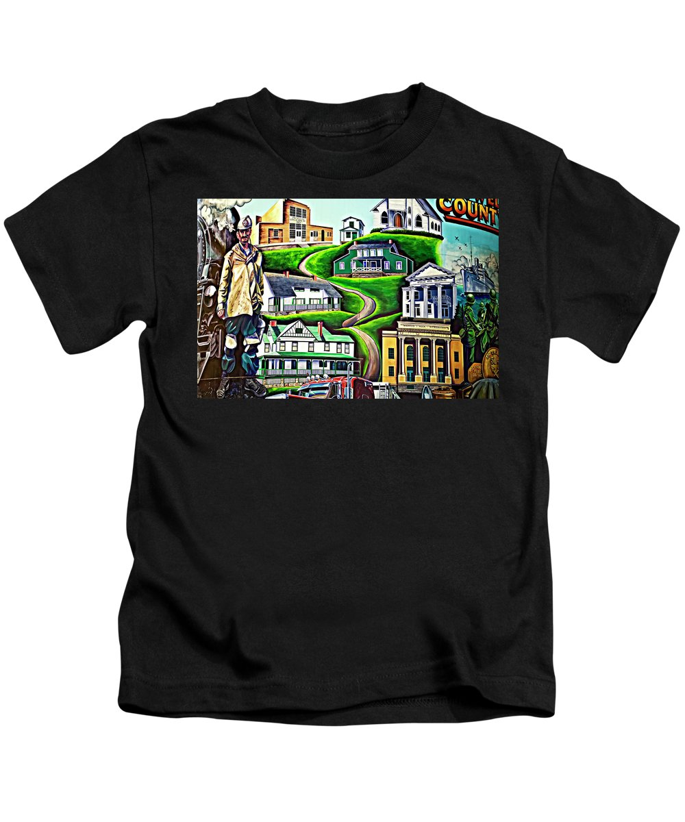 Welch Kids T-Shirt featuring the photograph Proud Heritage by Steve Harrington