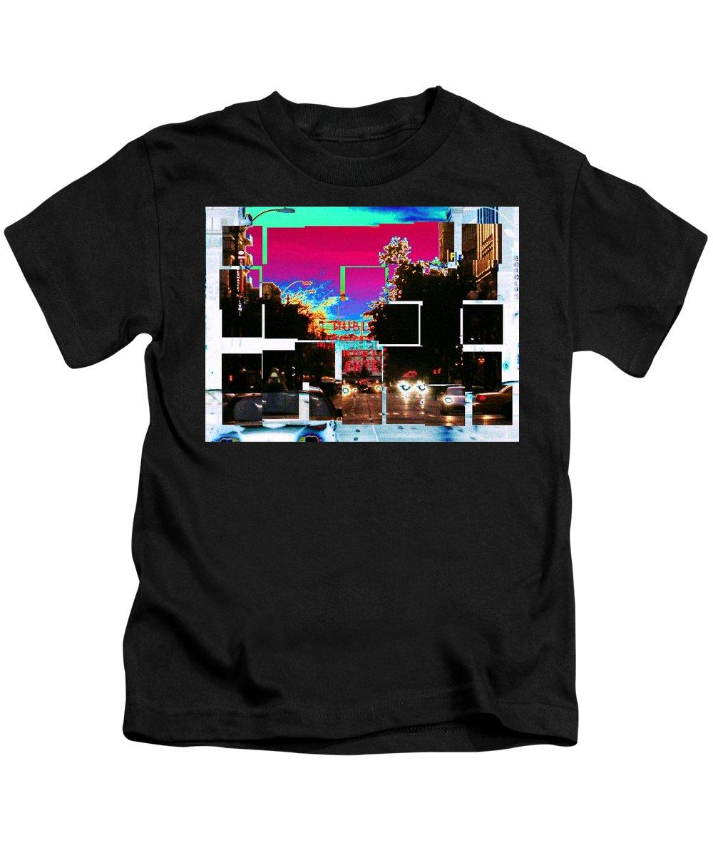 Seatttle Kids T-Shirt featuring the photograph Public Market Center by Tim Allen