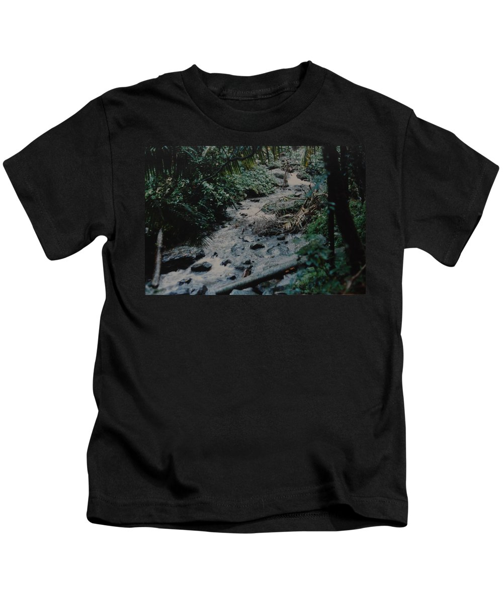 Trees Kids T-Shirt featuring the photograph Puerto Rico Water by Rob Hans