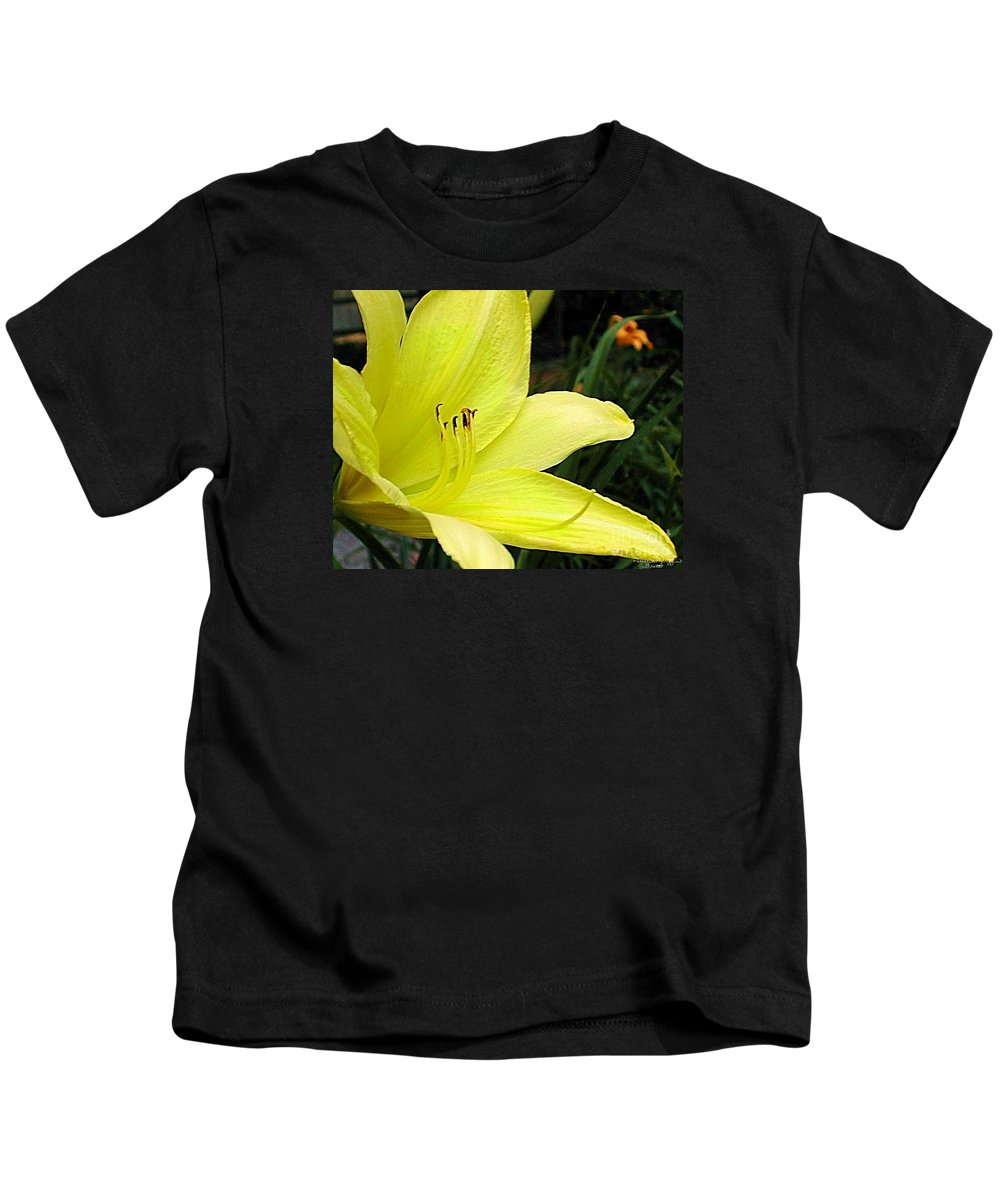 Fine Art Photography Kids T-Shirt featuring the photograph Pure Sunshine by Patricia Griffin Brett