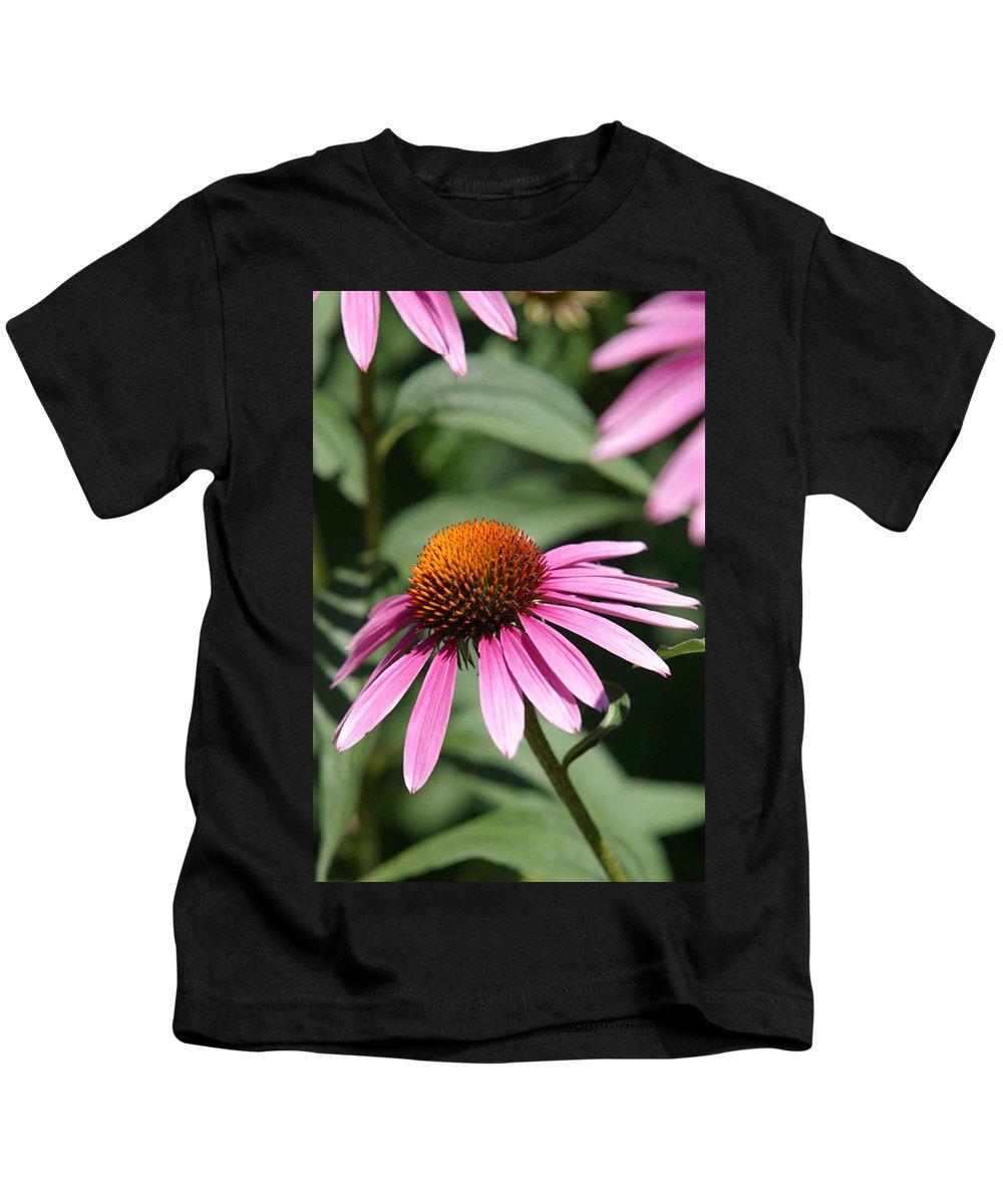 Alternative Kids T-Shirt featuring the photograph Purple Petals by Alan Look