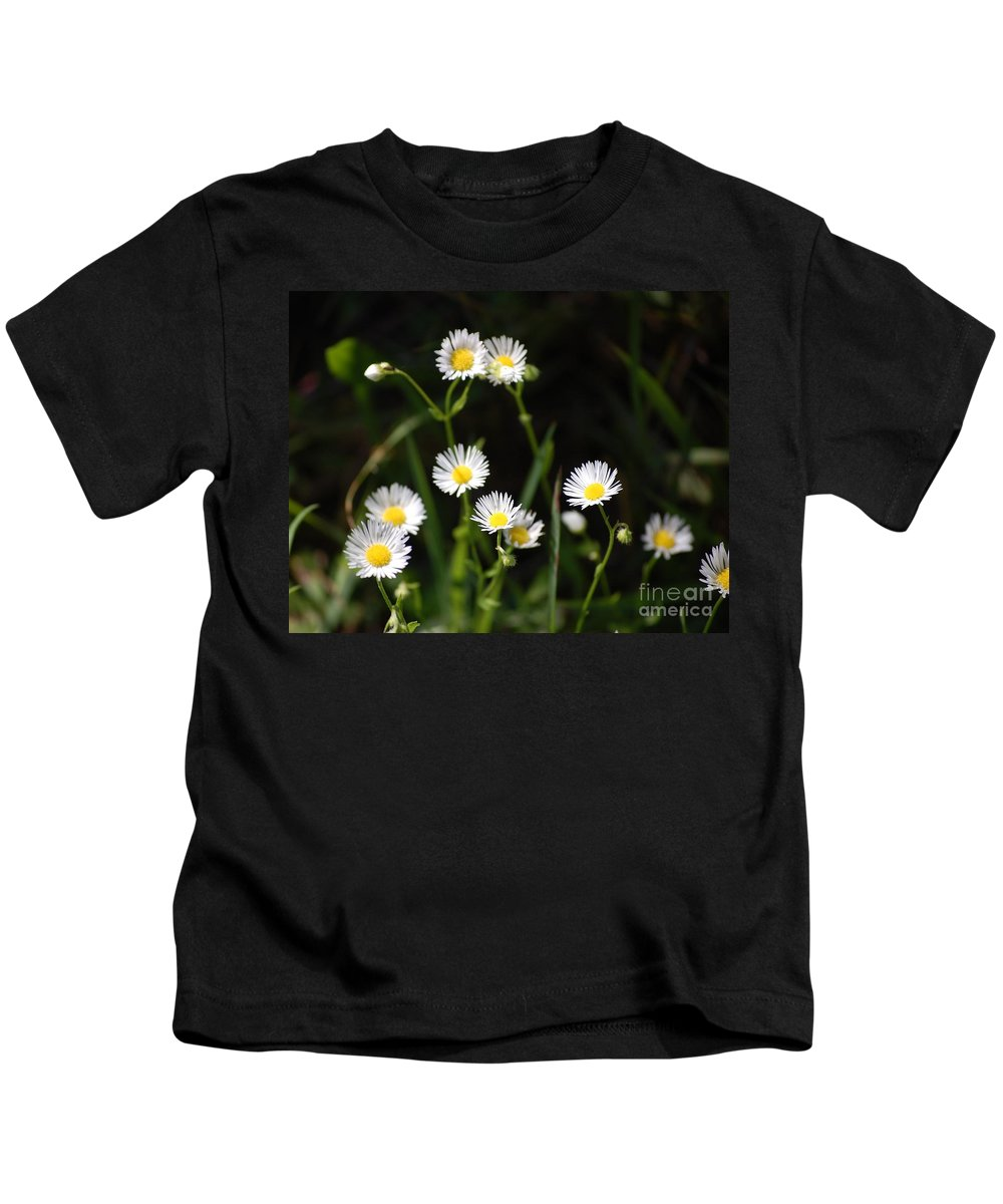 Digital Photo Kids T-Shirt featuring the photograph Pushing Up..... by David Lane