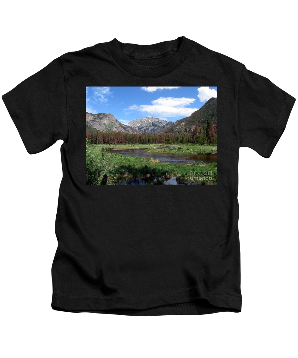 Nature Kids T-Shirt featuring the photograph Quiet by Amanda Barcon