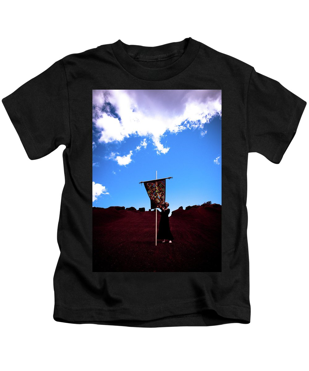Quilt Kids T-Shirt featuring the photograph Quilted Sky by Scott Sawyer
