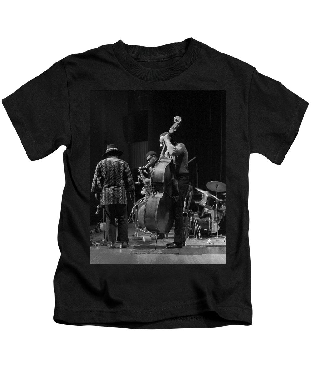 Rahsaan Roland Kirk Kids T-Shirt featuring the photograph Rahsaan Roland Kirk 2 by Lee Santa