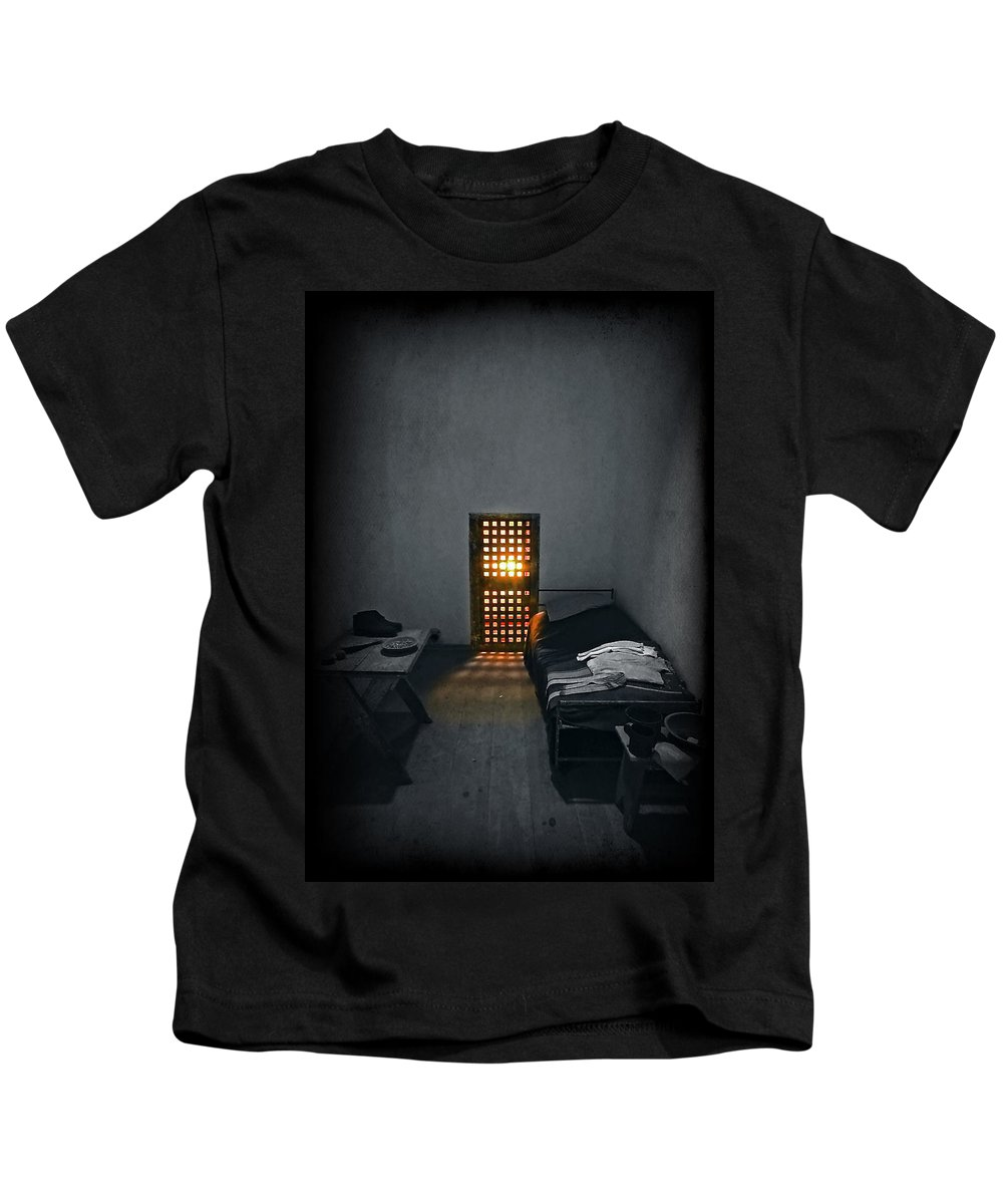 Art Kids T-Shirt featuring the photograph Rays Of Freedom by Evelina Kremsdorf