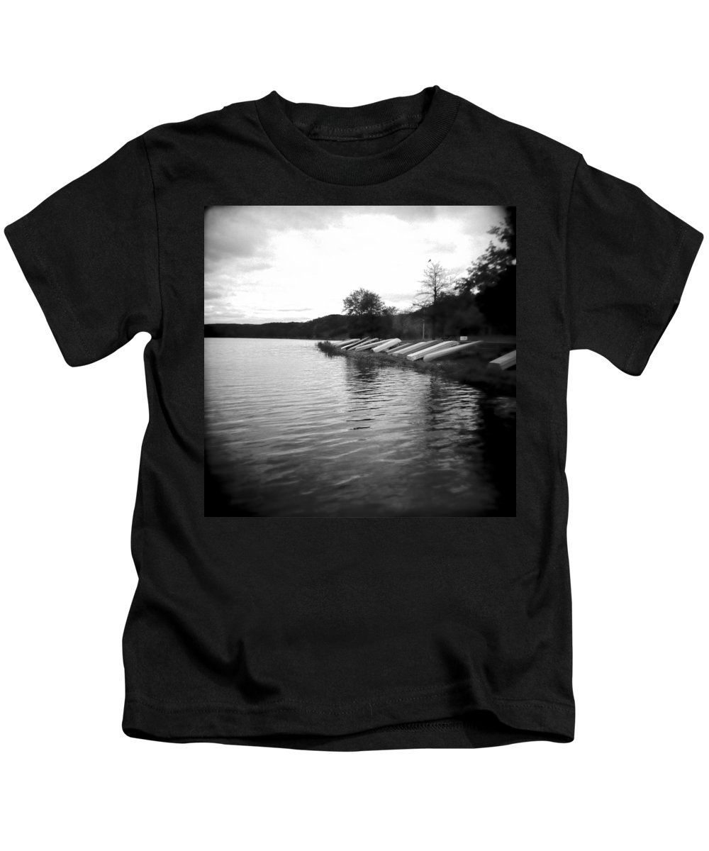 Photograph Kids T-Shirt featuring the photograph Ready And Waiting by Jean Macaluso
