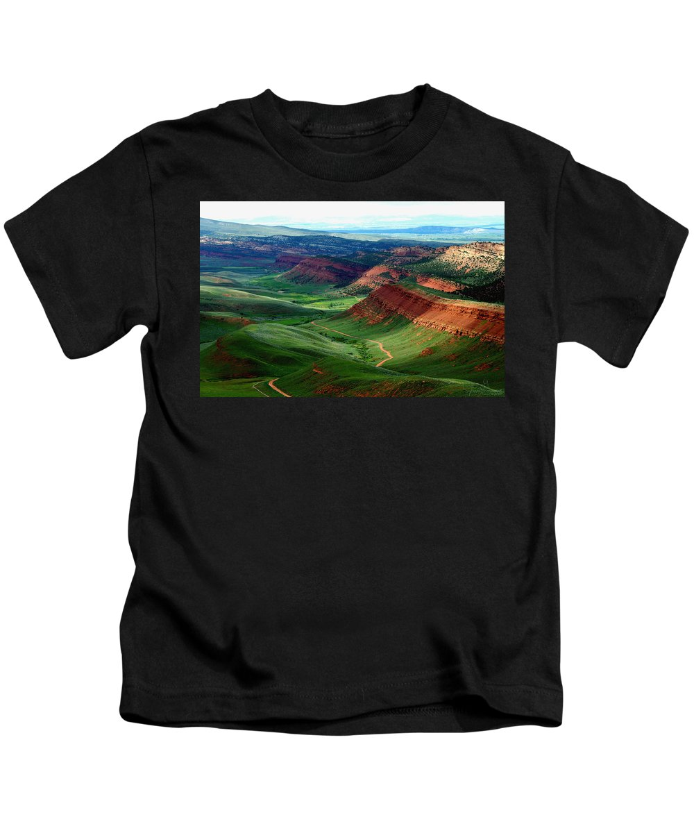 Jenny Gandert Kids T-Shirt featuring the photograph Red Canyon by Jenny Gandert
