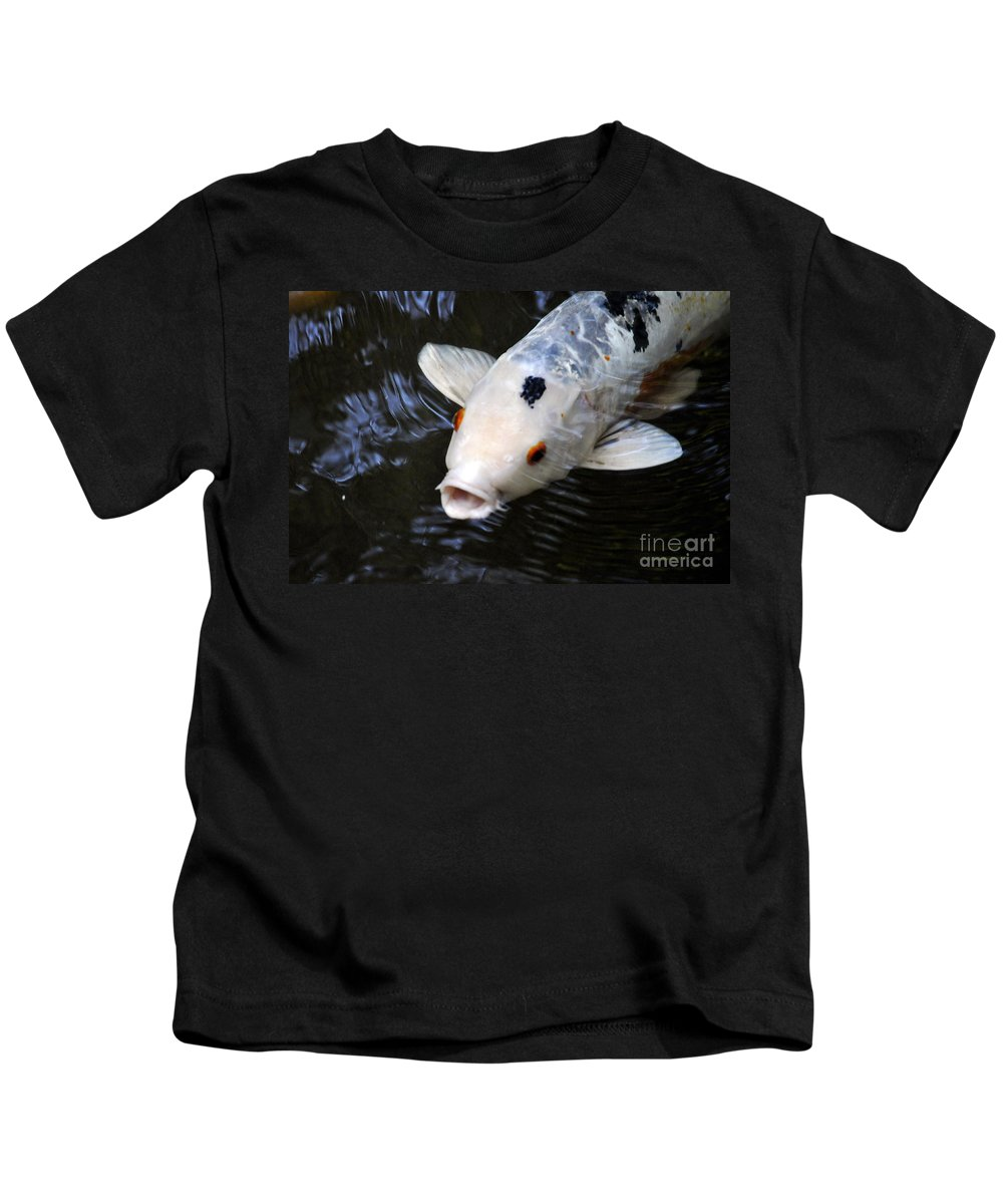 Clay Kids T-Shirt featuring the photograph Red Eyes by Clayton Bruster