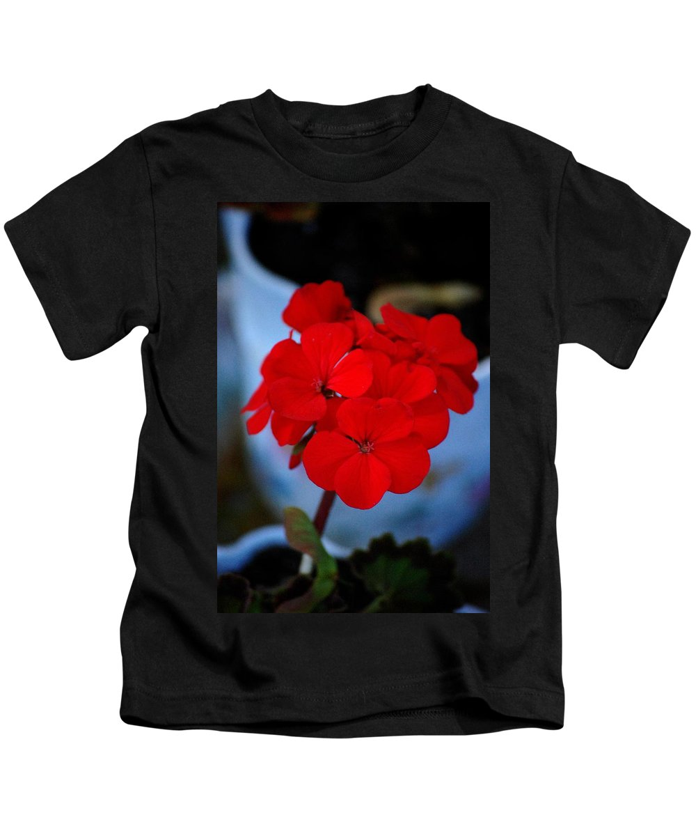 Kids T-Shirt featuring the photograph Red Menace by David Lane