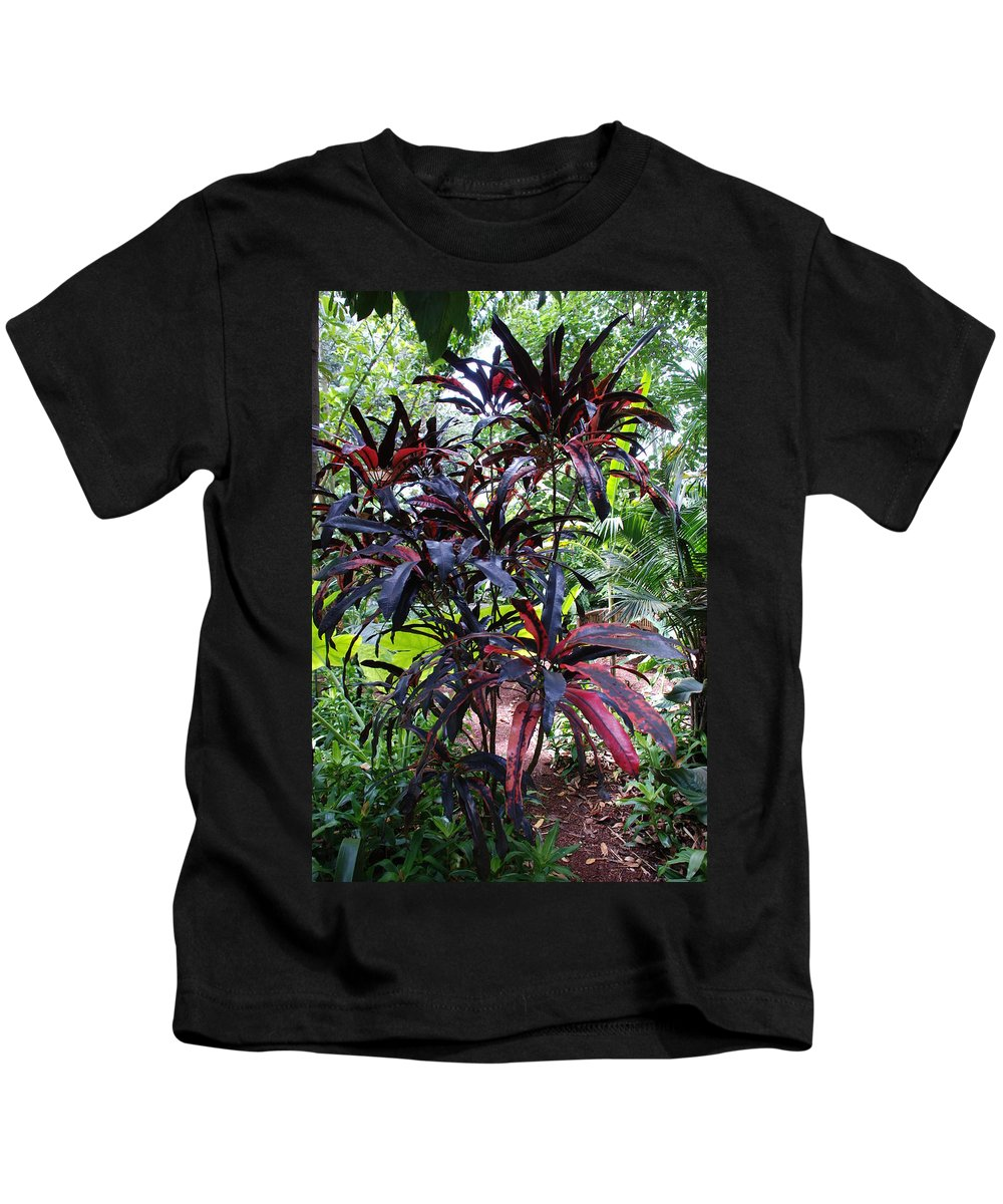 Red Kids T-Shirt featuring the photograph Red Trees by Rob Hans