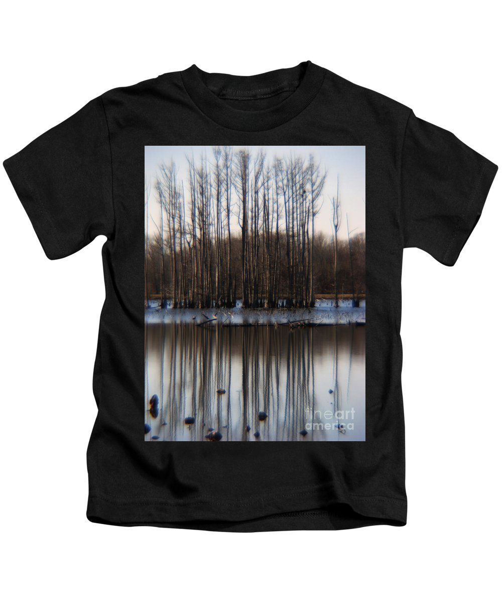 Nature Kids T-Shirt featuring the photograph Reflection by Amanda Barcon