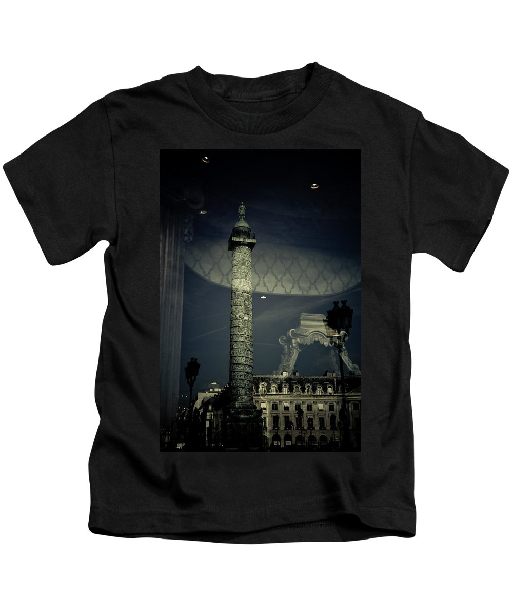 City Kids T-Shirt featuring the photograph Reflection I by Olivier De Rycke