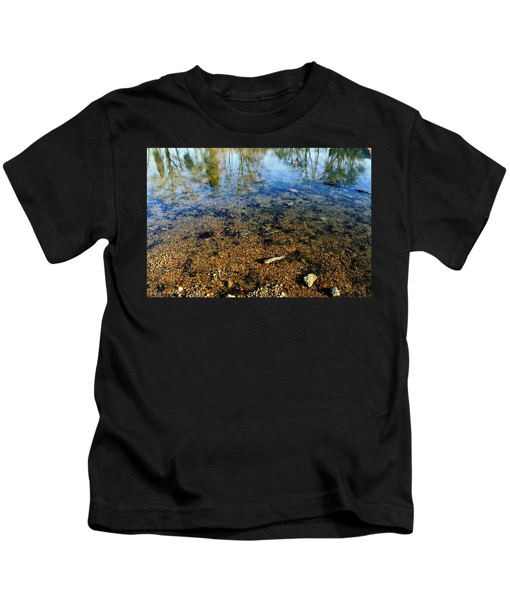 Landscape Kids T-Shirt featuring the photograph Reflections Of Nature by Todd Blanchard