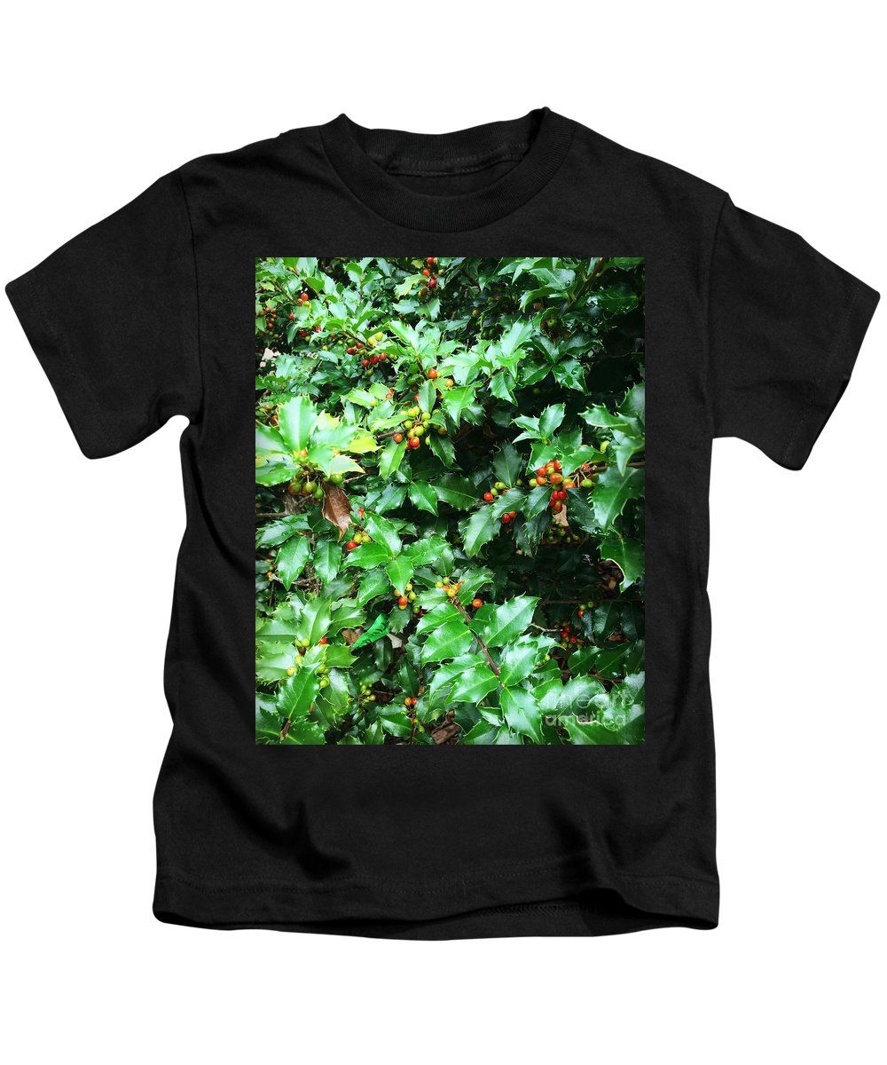 Leaves Kids T-Shirt featuring the photograph Refreshing Green by Anh Nguyen