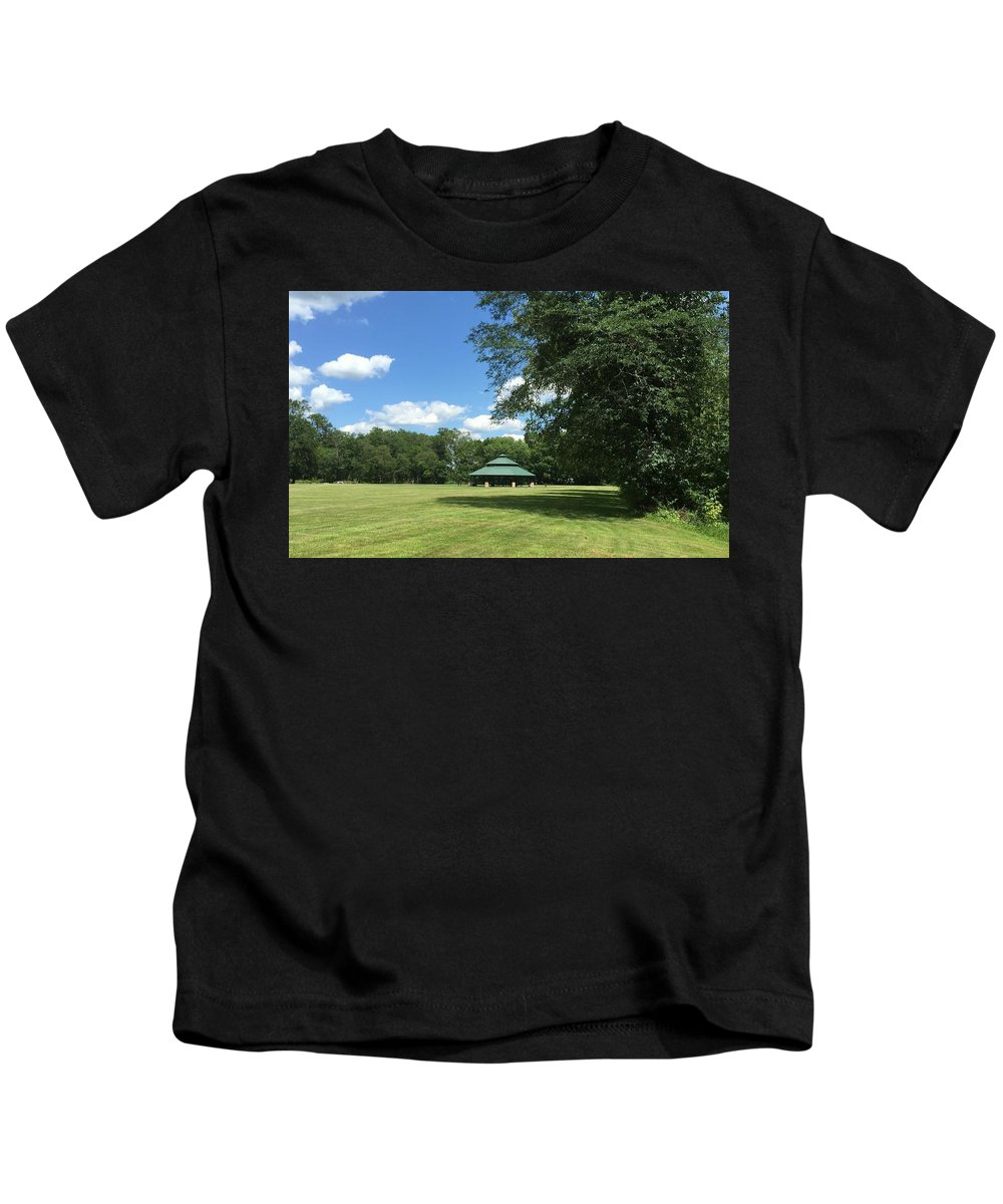 Summer Kids T-Shirt featuring the photograph Rest Area by Sabina Trzebna