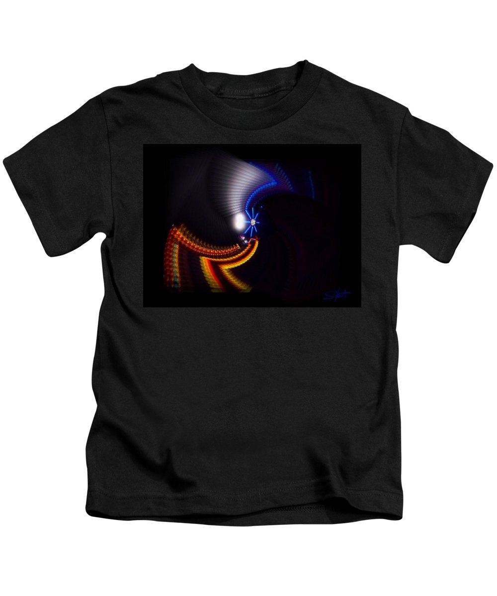 Chaos Kids T-Shirt featuring the photograph Ride by Charles Stuart