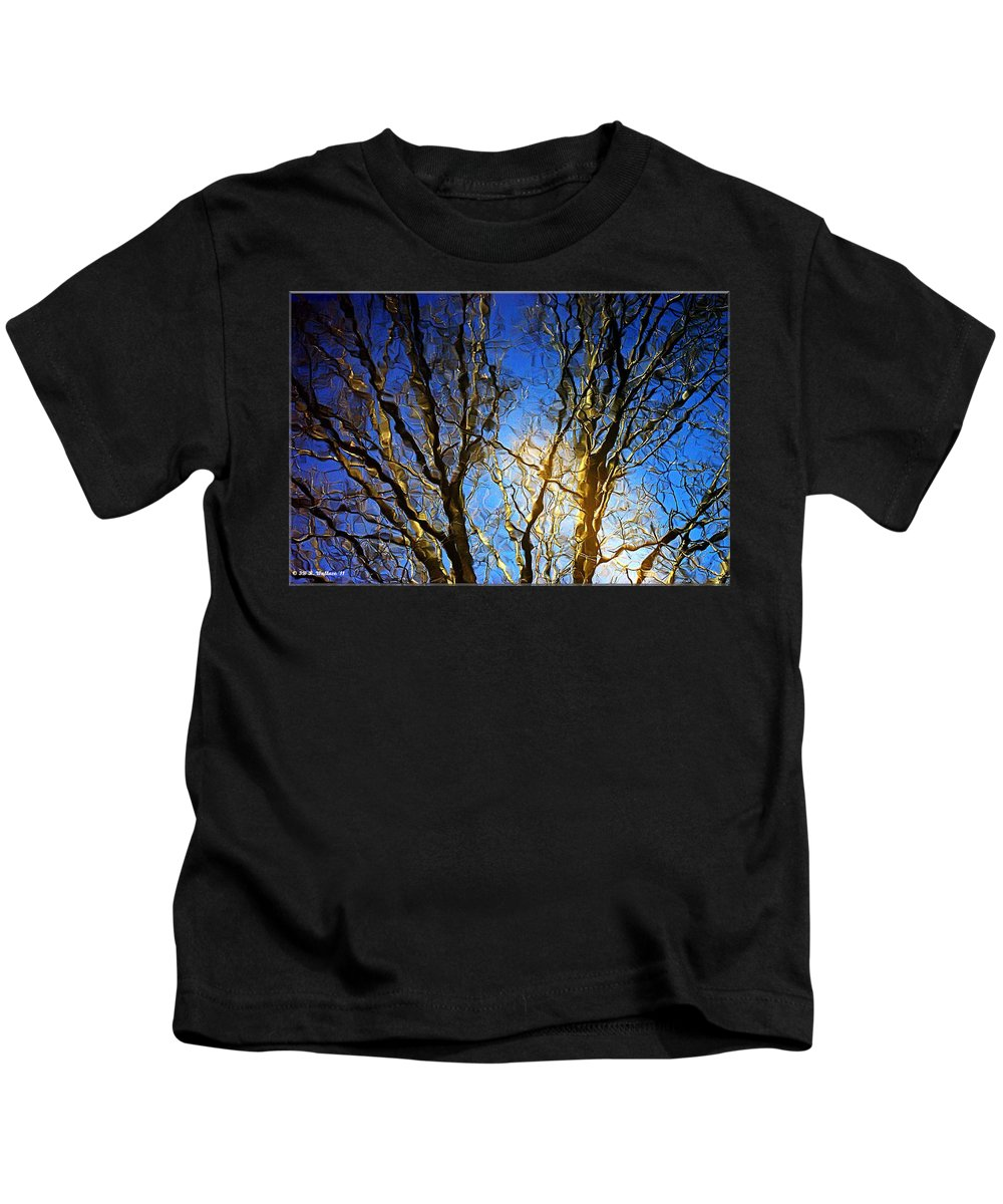 2d Kids T-Shirt featuring the photograph Ripple Tree by Brian Wallace
