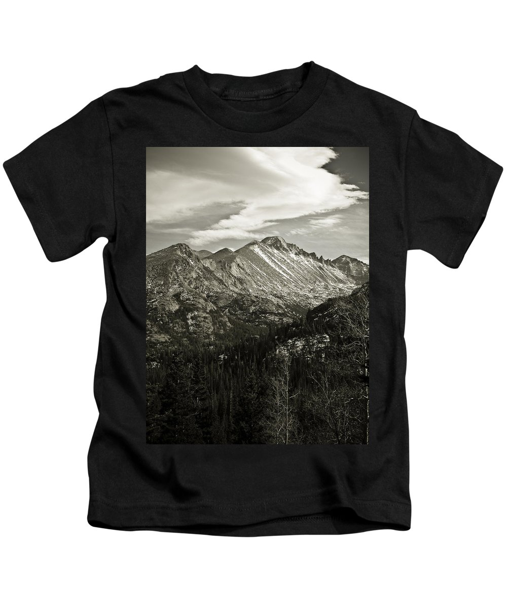 Colorado Kids T-Shirt featuring the photograph Rocky Mountain Wonders by Marilyn Hunt