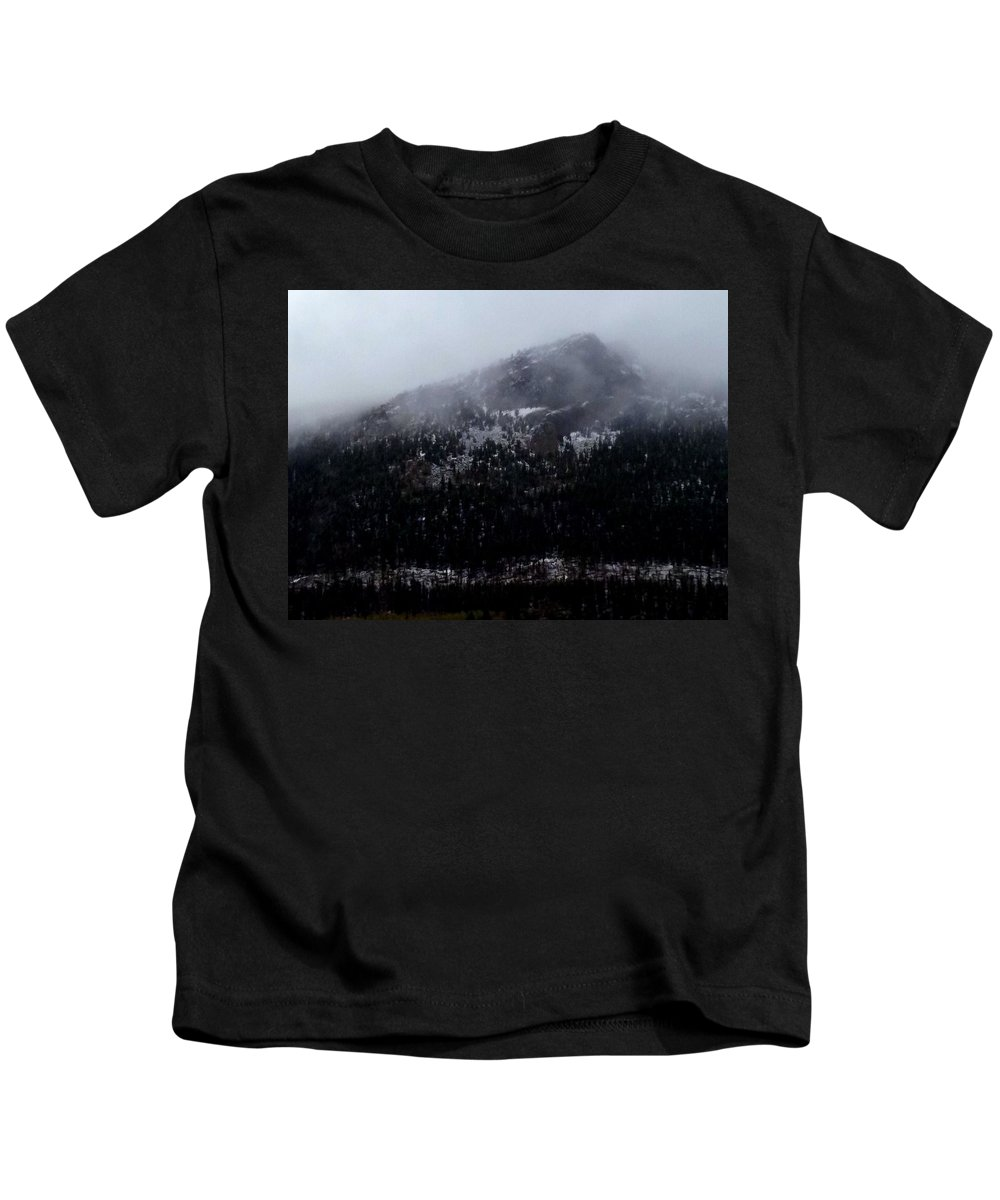 Mountain Kids T-Shirt featuring the photograph Rocky Mountains by Sarah Houser
