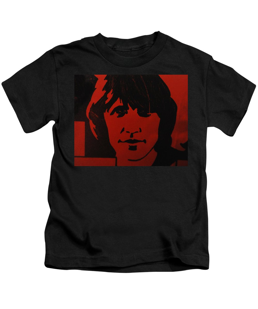 Abstract Kids T-Shirt featuring the photograph Roger Waters by Rob Hans
