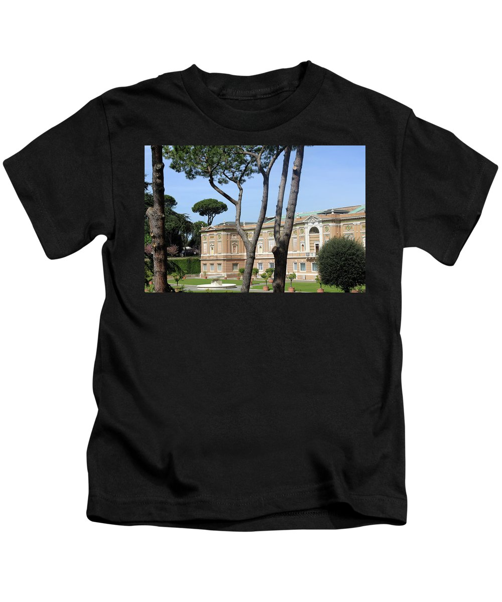 Museum Kids T-Shirt featuring the photograph Rome Museum by Munir Alawi