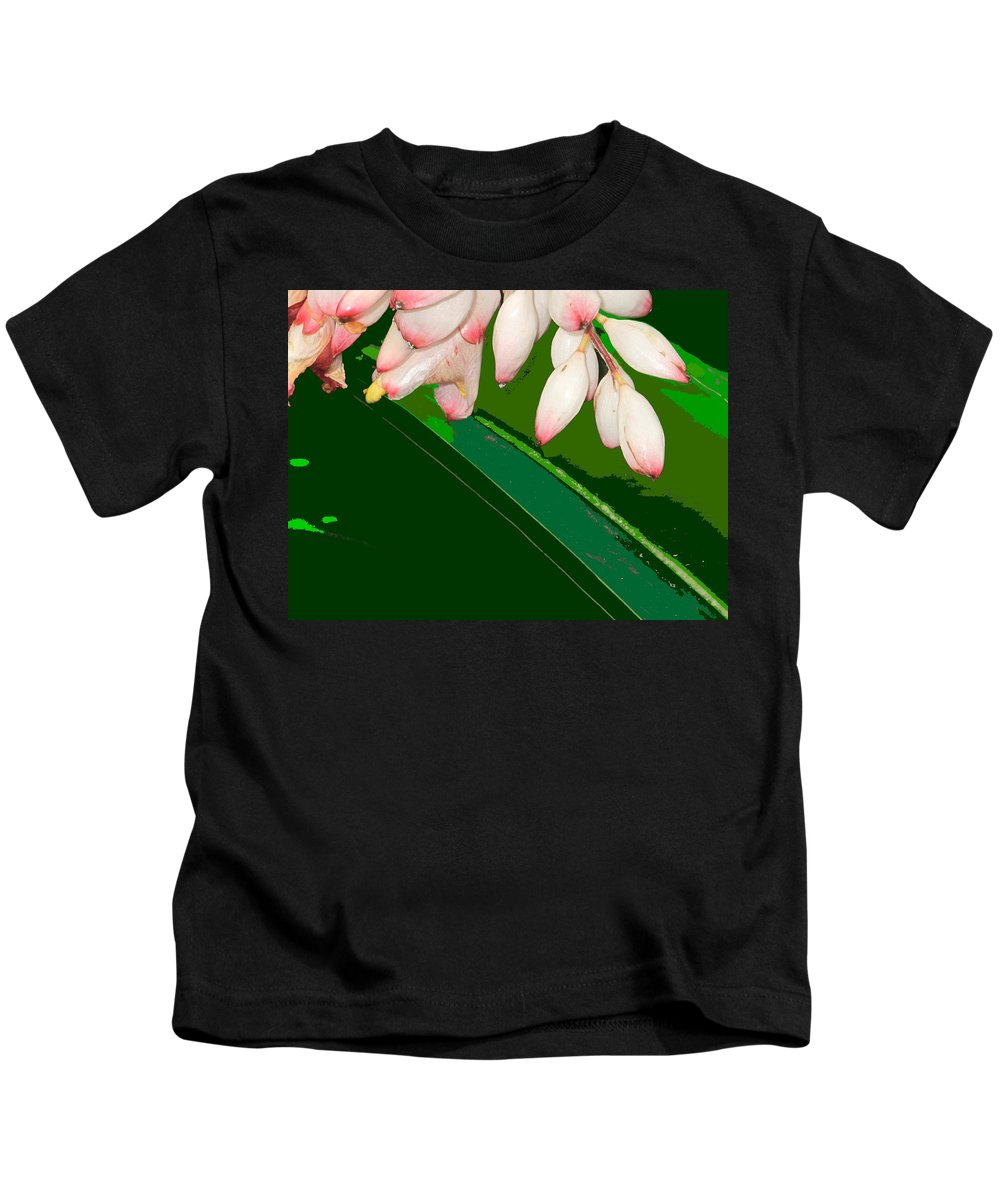 Flowers Kids T-Shirt featuring the photograph Romney White by Ian MacDonald