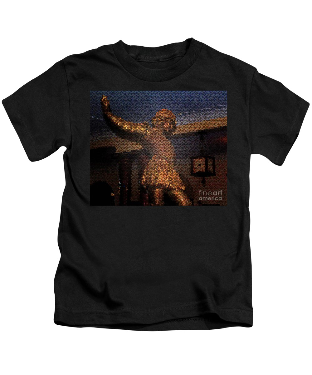 Rosalind Kids T-Shirt featuring the photograph Rosalind by Jost Houk
