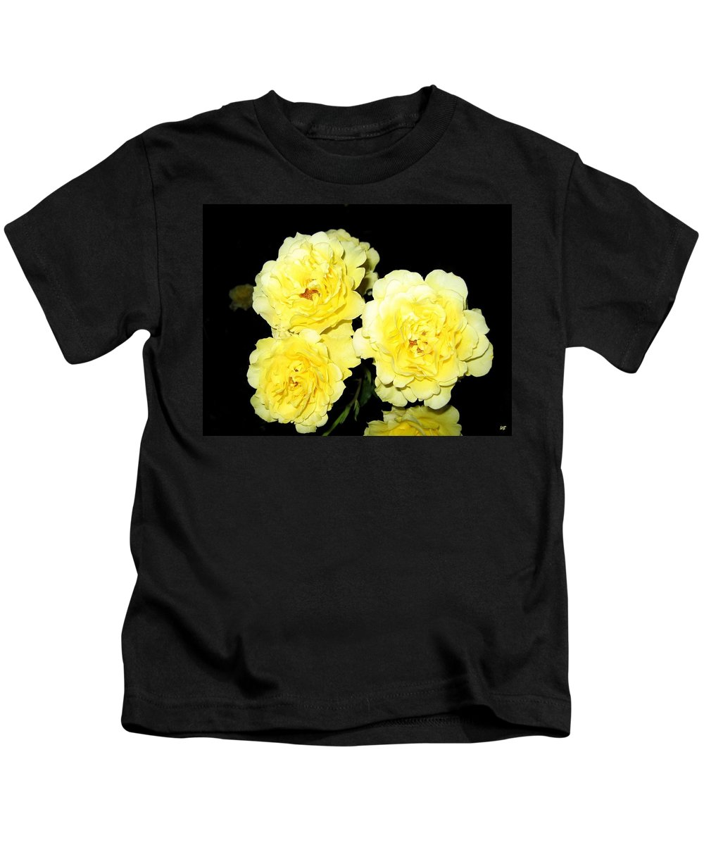 Roses Kids T-Shirt featuring the photograph Roses 11 by Will Borden