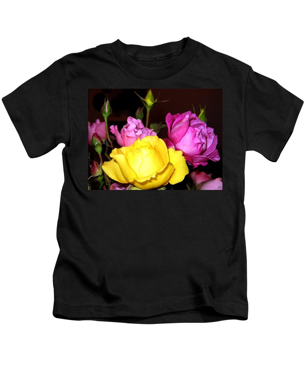 Roses Kids T-Shirt featuring the photograph Roses 4 by Will Borden