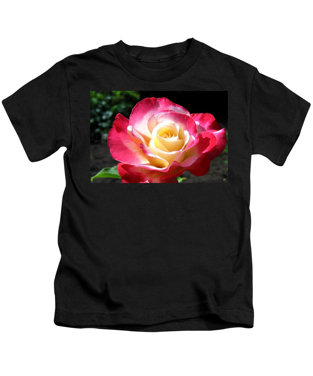 Rose Kids T-Shirt featuring the photograph Roses 7 by Will Borden