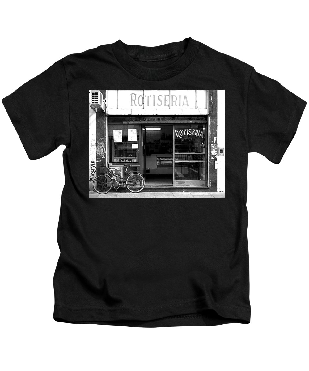 Buenos Aires Kids T-Shirt featuring the photograph Rotiseria by Osvaldo Hamer