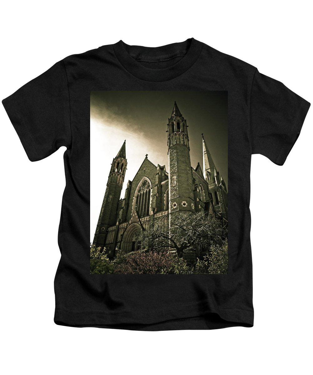 Rupunzel Kids T-Shirt featuring the photograph Rupunzel by Kelly Jade King