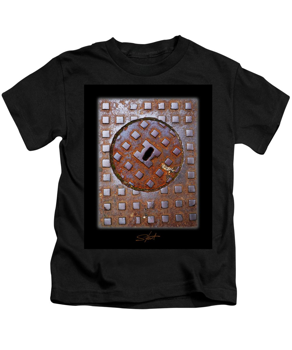 Heavy Metal Kids T-Shirt featuring the photograph Rust Never Sleeps by Charles Stuart