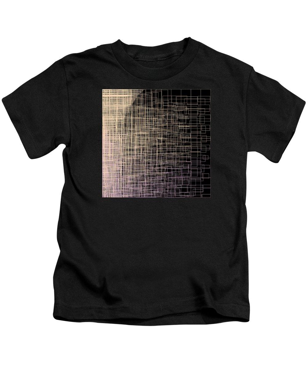 Abstract Kids T-Shirt featuring the digital art S.4.43 by Gareth Lewis