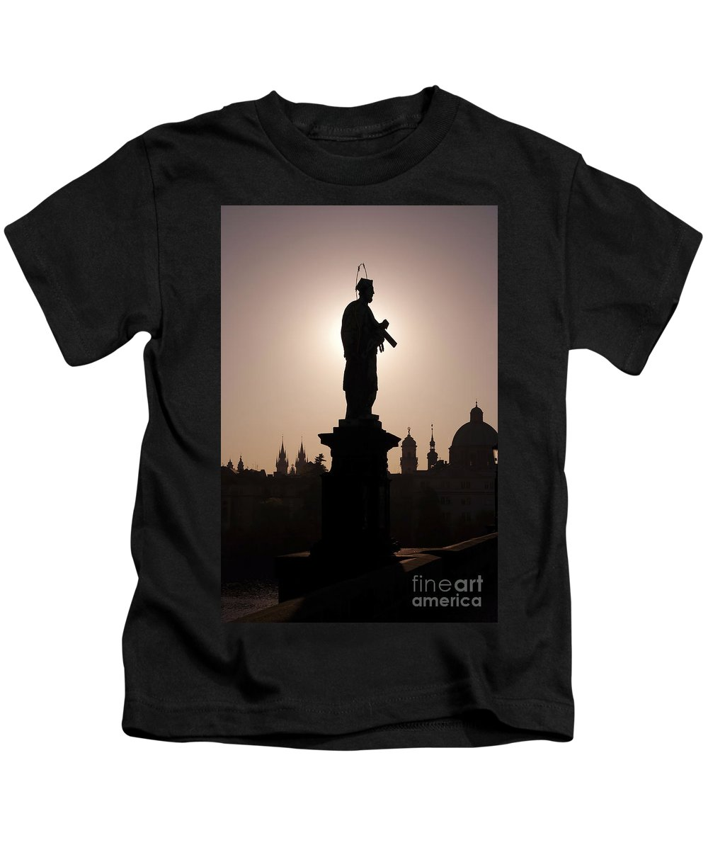 Prague Kids T-Shirt featuring the photograph Saint by Michal Boubin